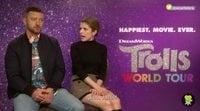 "Justin Timberlake: ""Me gusta más la música de 'Trolls 2: Gira Mundial' que de la primera"""