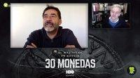 """Eduard Fernández ('30 monedas'): """"Poca gente sabe tanto de cine como Álex de la Iglesia"""""""