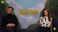 """Raúl Arévalo y Anna Castillo: """"'Los Croods: Una nueva era' va a funcionar bien en taquilla"""""""