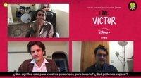 """Michael Cimino, George Sear: """"La segunda temporada de 'Con amor, Victor' tendrá escenas más calientes"""""""