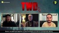 Melissa McBride y Norman Reedus sobre los episodios extra de la temporada 10 de 'The Walking Dead'