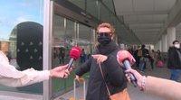 Najwa Nimri agrede a unos periodistas al llegar a Madrid tras los Goya 2021