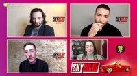 """Asier Etxeandia """"'Sky Rojo' tiene una crítica por debajo acojonante"""""""