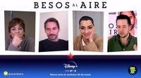 Entrevista 'Besos al aire' con Paco León, Leonor Watling y Nuria Herrero