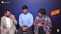 'El vecino': Quim Gutiérrez, Clara Lago y el resto del reparto descubren quién sería el mejor superhéroe