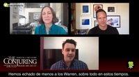 """Patrick Wilson y Vera Farmiga: """"La mejor cualidad de los Warren es su positividad juntos"""""""