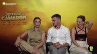 El reparto de 'Operación Camarón' rememora su pasado rebelde y choni en la adolescencia