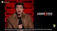 Henry Golding: Los personajes de 'Snake Eyes: El origen' no son superhéroes
