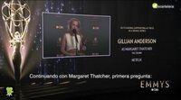 Gillian Anderson responde si ha hablado con Margaret Thatcher para 'The Crown'