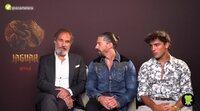 Óscar Casas, Adrián Lastra y Francesc Garrido nos hablan de 'Jaguar'
