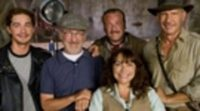 Shia LaBeouf en el rodaje de Indiana Jones