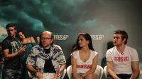 Entrevista a Santiago Segura, Sara Sálamo y Raúl Mérida, de 'Tres 60'