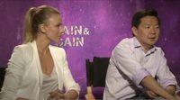 Entrevista en primicia a Ken Jeong y Bar Paly 'Dolor y Dinero'