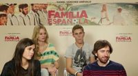 Entrevista a Daniel Sánchez Arévalo, Patrick Criado, Arancha Martí y Sandra Martín, de 'La gran familia española'