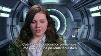 Entrevista exclusiva a Abigail Breslin, 'El juego de Ender'