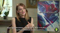 Entrevista con Emma Stone, 'The Amazing Spider-Man 2: El poder de Electro'