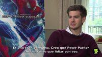 Entrevista a Andrew Garfield, 'The Amazing Spider-Man 2: El poder de Electro'