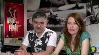 Entrevista a Teresa Pelegri y Dominic Harari, 'Amor en su punto'