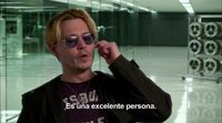 Entrevista exclusiva a Johnny Depp, de 'Transcendence' #2