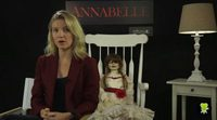 Interview with Annabelle Wallis, 'Annabelle'