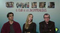 Entrevista a Álex Maruny, Charlotte Vega y Carlos Sedes, 'El club de los incomprendidos'