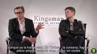 Entrevista a Colin Firth y Taron Egerton, 'Kingsman: Servicio Secreto'
