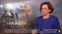 Entrevista a Sigourney Weaver, 'Chappie'