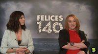 Entrevista a Maribel Verdú y Gracia Querejeta, 'Felices 140'