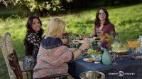 Amy Schumer celebra el 'Last F**kable Day' de Julia Louis-Dreyfus con Tina Fey y Patricia Arquette
