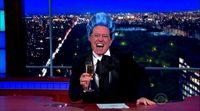 Stephen Colbert parodia 'Los juegos del hambre'