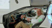 Doc Brown llega al 21 de octubre de 2015