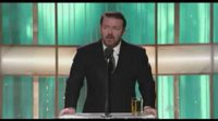 Ricky Gervais en los Globos de Oro 2011