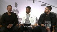 Entrevista con el reparto de 'Straight Outta Compton'