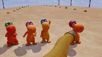 Trailer español 'Coco, el pequeño dinosaurio'