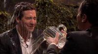 Guerra de agua entre Jimmy Fallon y Jake Gyllenhaal