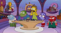'Los Simpson' parodían 'Del revés'