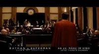 Spot televisión alemana 'Batman v Superman: El amanecer de la Justicia'.