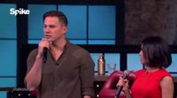 Channing Tatum canta 'Let it go'