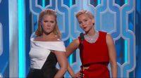 Presentación de Jennifer Lawrence y Amy Schumer en los Globos de Oro 2016