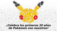 20º Aniversario Pokemon