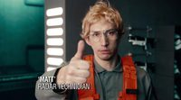 Adam Driver como Kylo Ren en 'Saturday Night Live'