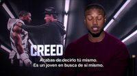 Entrevista a Michael B. Jordan por 'Creed'