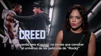 Entrevista a Tessa Thompson por 'Creed'