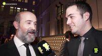 Así vivió Javier Cámara el triunfo de Ricardo Darín en los Premios Feroz