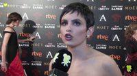 """Verónica Echegui: """"Está bien reivindicar en los Goya, pero creo más en las acciones"""""""