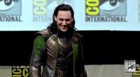 Tom Hiddleston como Loki en la Comic-Con de San Diego 2013