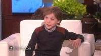 Entrevista Jacob Tremblay con Ellen DeGeneres