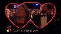 La kiss cam de los premios BAFTA