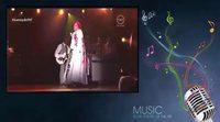 Lady Gaga homenajea a David Bowie durante los Grammy 2016