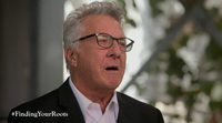 Dustin Hoffman rompe a llorar en el programa 'Finding Your Roots'